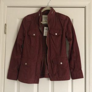 Brand New With Tags Abercrombie & Fitch Jacket